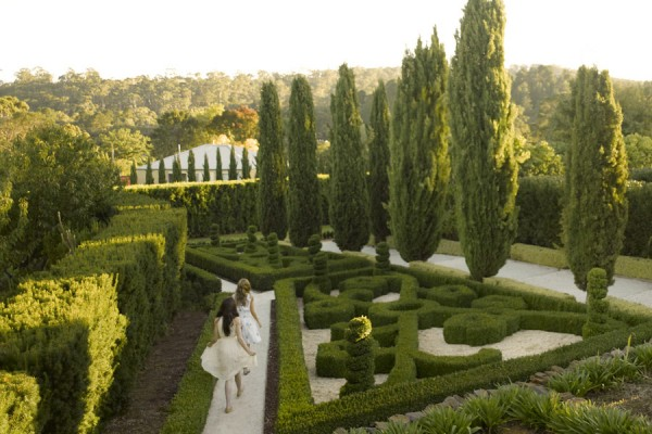 The Maze Garden at Villa Parma & The Mineral Springs Hotel