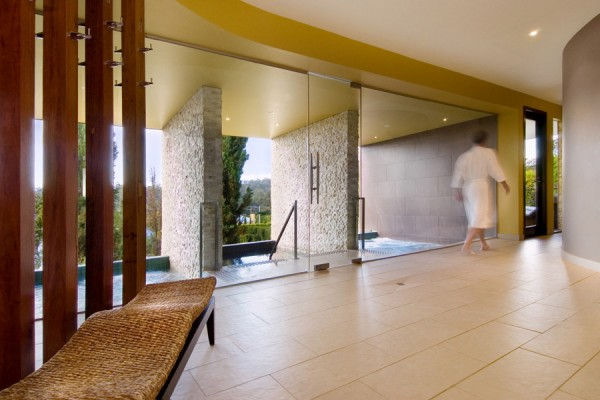 The Retreat private bathing at teh Mineral Spa Daylesford